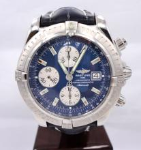 BREITLING WINDRIDER CHRONOMAT EVOLUTION STAINLESS STEEL MEN'S WATCH