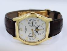 Patek Philippe 5040J Perpetual Calendar Moonphase 18k Yellow Gold BOX/PAPER MINT