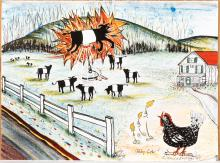 Maurie Kerrigan signed lithograph