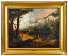 John Rubens Smith oil on canvas