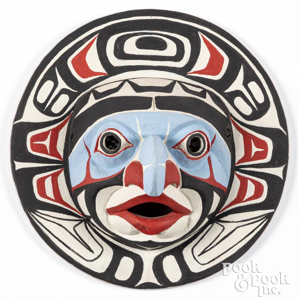 Don Lelooska Northwest Coast Indian mask