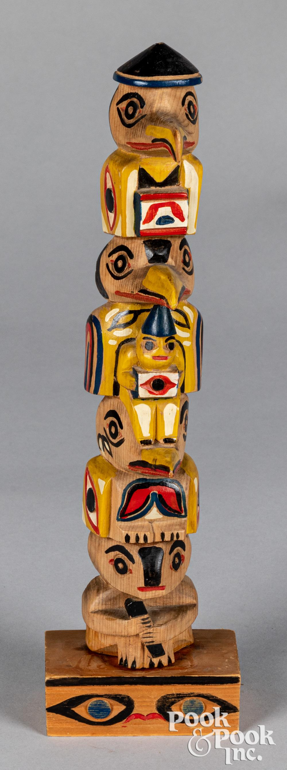 Pacific Northwest Coast Indian totem pole