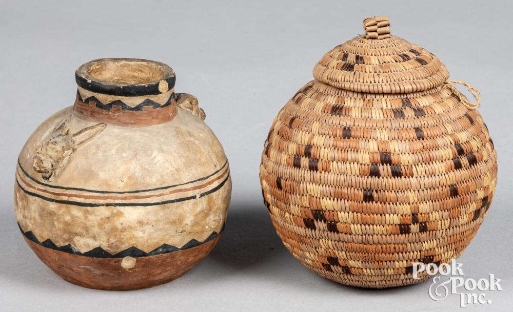 Two African tribal items