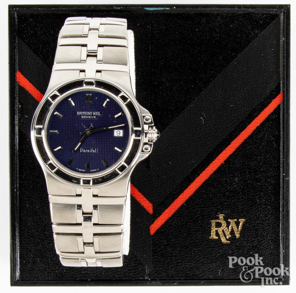 Raymond Weil Parsifal wristwatch.