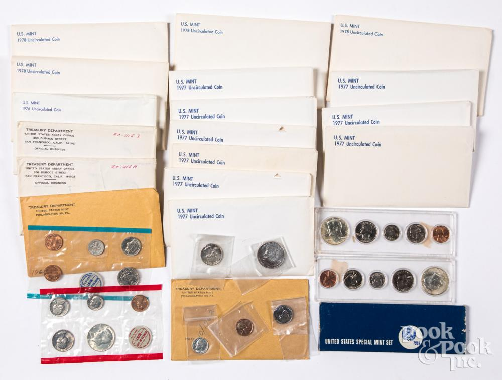 US Mint Sets, to include 1954, 1962, 1964, etc.