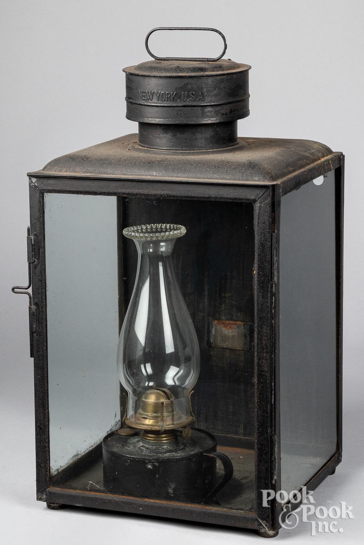 Dietz No. 3 Station Lamp lantern, 19th c.