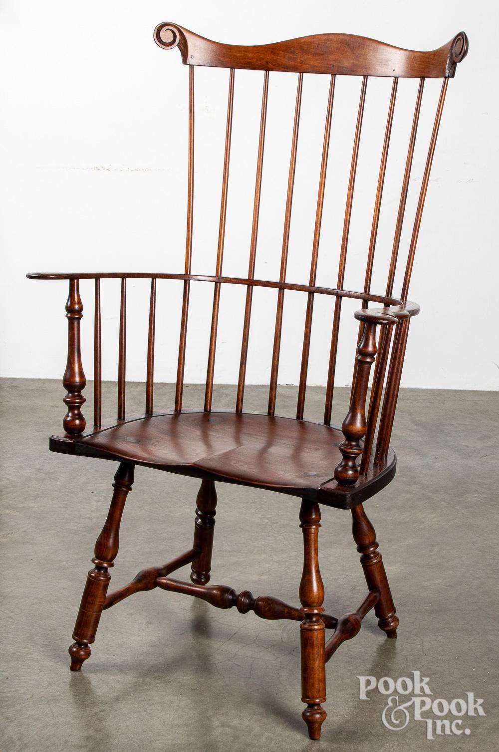 Drew Lausch contemporary Windsor armchair.