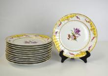 Twelve Pcs of KPM Plates