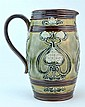 Royal Doulton Lambeth Art Nouveau-Style Ewer
