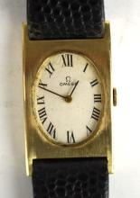 14K Gold Omega Lady Watch