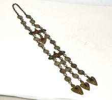 Turkmen Gilt Silver Necklace