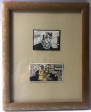 Framed Indian Miniatures