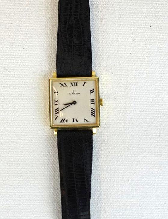 Omega Men's 14K White Gold Watch