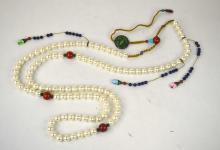 Chinese 108 Pearl Beads Court Necklace