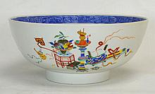 Large Chinese Qianlong Export Famille Rose Bowl