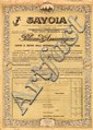 Savoia - S.A. Italiana di Assicurazioni