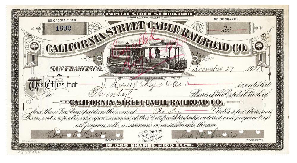 California Street Cable Railroad Co