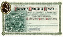 Antique Stock and Bond certificates