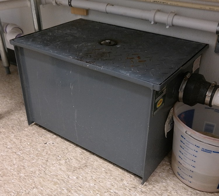 Under Sink Commercial Kitchen Grease Trap