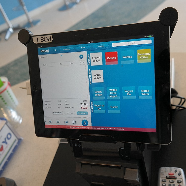 Revel Berkel iPad POS Point of Sale Scale Register