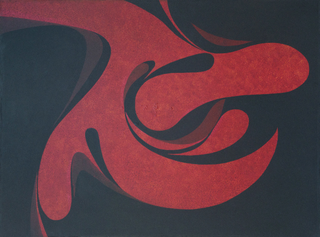 Untitled (Red Lyrical Form)
