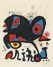 Design for Miro Exhibition Poster