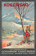 Kosciusko / Ski. 1925