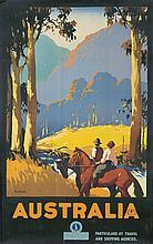 Australia / Horses. ca. 1930