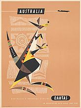 Australia Qantas / Kangaroo. ca. 1950