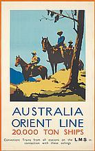Australia / Orient Line. ca. 1930