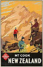 New Zealand / Mt. Cook. ca. 1935