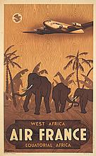 Air France / West Africa. 1946