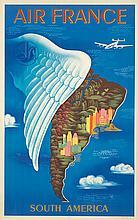 Air France / South America. 1950