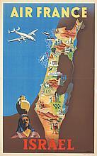 Air France / Israel. 1951