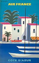 Air France / Cote d'Azur. 1960