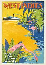 White Star Line/West Indies. ca. 1931