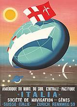 Italia / Navigation. ca. 1953
