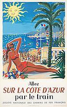 Sur la Cote D'Azur. 1954