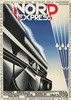 Nord Express. 1927, Adolphe Mouron Cassandre, $13,000