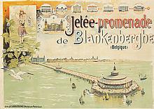 Jetée Promenade de Blankenberghe. ca. 1900