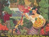 Bananas/From Lands of Tropical Splendor. 1954, Dean Cornwell, $1,100