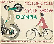 London Underground / Motorcycle & Cycle Show. 1933