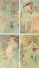 The Seasons / on linen. 1896