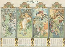 Seasons/Dewez. 1902