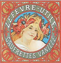 Lefevre-Utile / Gaufrettes Vanille. ca. 1900