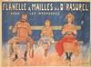 Flanelle du Dr. Rasurel. 1880, Eugene Vavasseur, $1,200