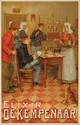 Elixir de Kempenaar. ca. 1905. Rare Poster, Ernest Godfrinon, Click for value