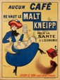 Malt Kneipp. 1909. Rare Poster, Raoul Vion, Click for value