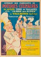 Poteries Culinaires. Rare Poster, Eugene Vavasseur, Click for value
