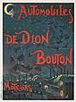 Automobiles de Dion Bouton. ca. 1905